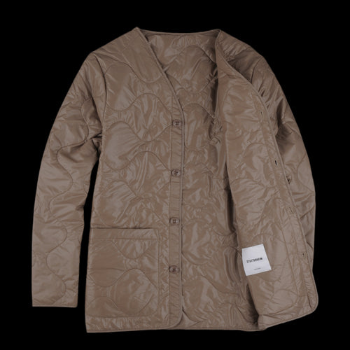 Leksand Quilted Jacket with Lining in Mole