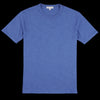 Alex Mill - Standard Slub Cotton Tee in Royal Blue