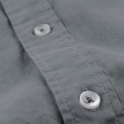 Oxford Button Down Collar Shirt in Spruce