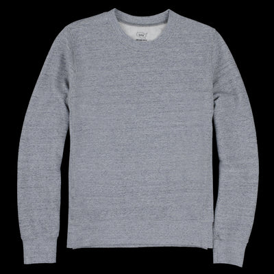 Save Khaki - French Terry Sweatshirt in Heather Grey