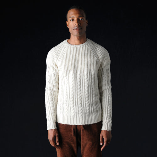 Bruma Ravera Sweater in Avorio