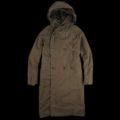 Kapital - Katsuragi Cotton Tall Tri P Coat in Khaki
