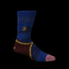 Kapital - 96 Yarn Wool Gabbeh Heel Sock in Blue