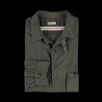 Kapital - Broad Cloth Anorak Shirt in Khaki