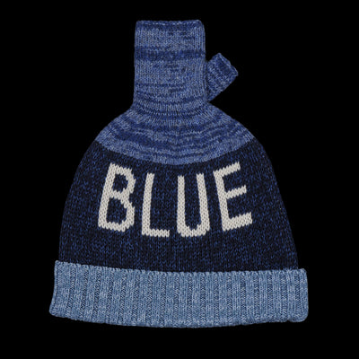 Kapital - 5g Glove Blue Hands Knit Cap in Blue