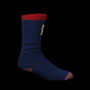 Kapital - 84 Yarn Ski Socks in Navy