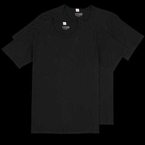 Two Pack T-Shirt in Black