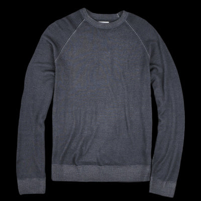 Hartford - Merino Pullover Sweater in Charcoal
