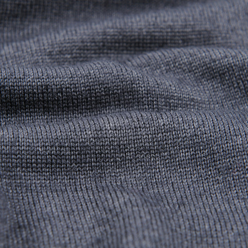 Merino Pullover Sweater in Charcoal