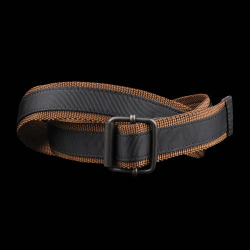 Nylon Slider Belt in Brown