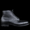 Alden - Stanyan Cap Toe Boot in Black Regina Grain D6831C