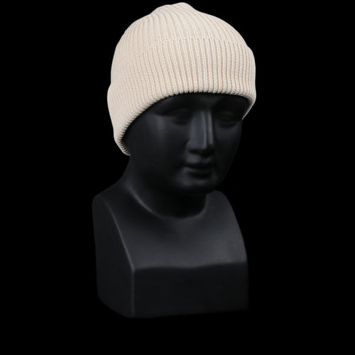 Cotton Classic Beanie in Raw