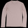 Alex Mill - Standard Slub Long Sleeve Cotton Tee in Pink Haze
