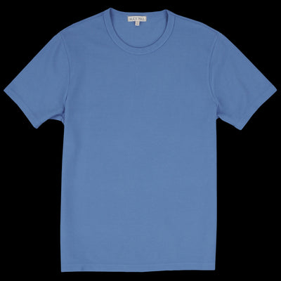 Alex Mill - Piqué Tee in Washed Cobalt