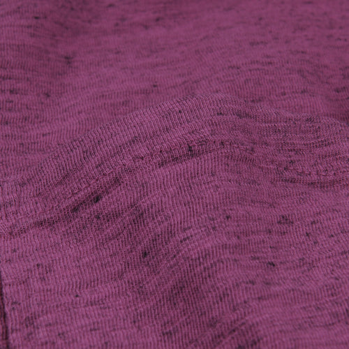 Overdye Heather Tee in Plum