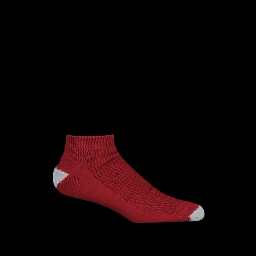 Thermal Ankle Sock in Wine