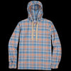 Arpenteur - Toast Broadcloth Popover in Blue Check
