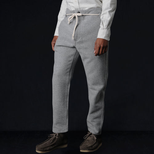 Kaze Cotton Wool Pant in Light Grey