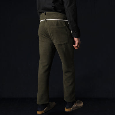 Prospective Flow - Kaze Cotton Wool Pant in Olive