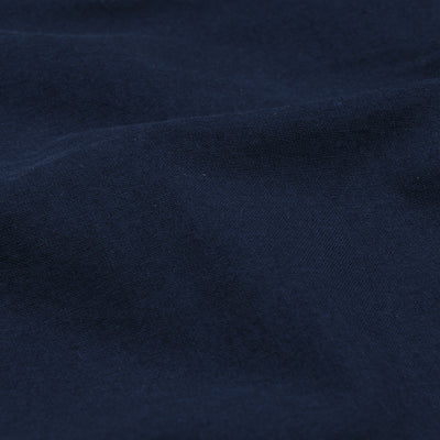 Vetra - Light Cotton Canvas Short in Overdye Navy