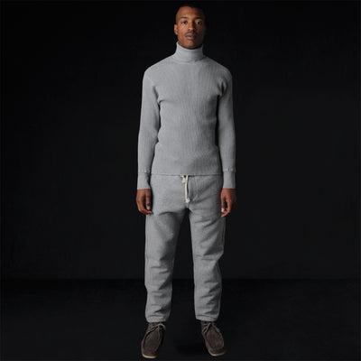 The Grey Area By Unionmade - Kaze Cotton Wool Pant in Light Grey