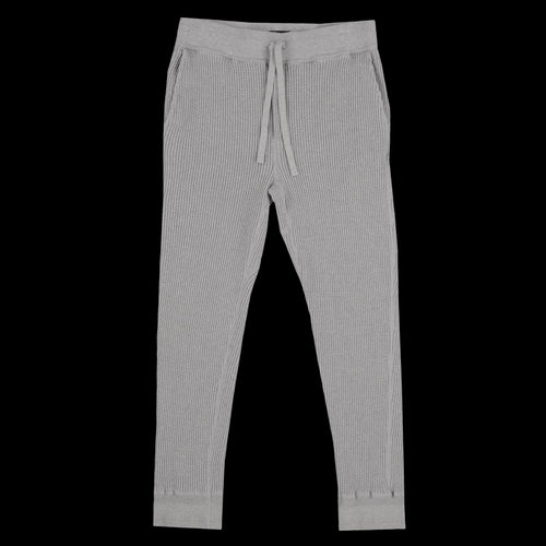 Bulky Waffle Thermal Easy Pant in Grey