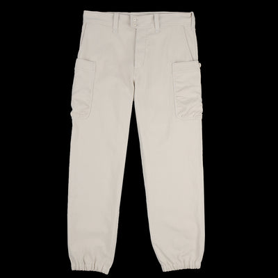 Ts(S) - Double Twill Gathered Round Pocket Pant in Light Beige