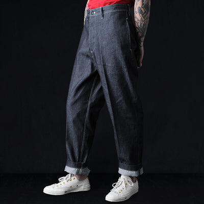 Tomorrowland - 10oz Denim Painter Pant in Navy