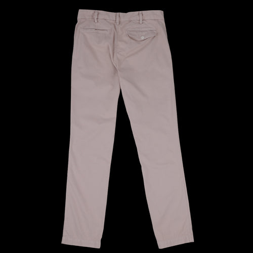 Light Weight Twill Slim Trouser in Tea