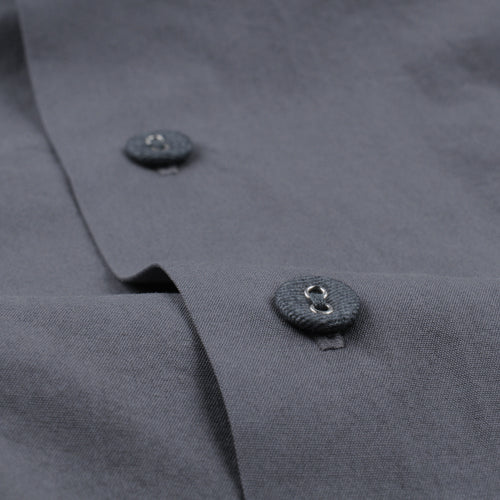 Poplin Haven Shirt in Metal