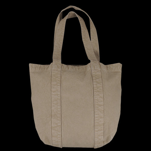Canvas Work Tote in Khaki