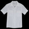 Save Khaki - Cotton Linen Camp Shirt in White