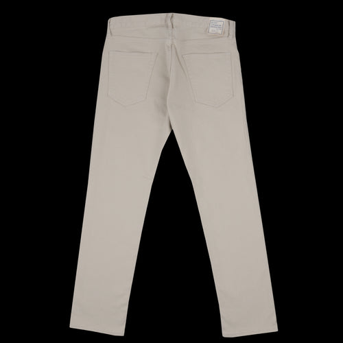 Piqué 5 Pocket Taper Pant in Beige
