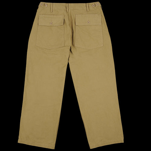 Military Utility Trouser in Khaki