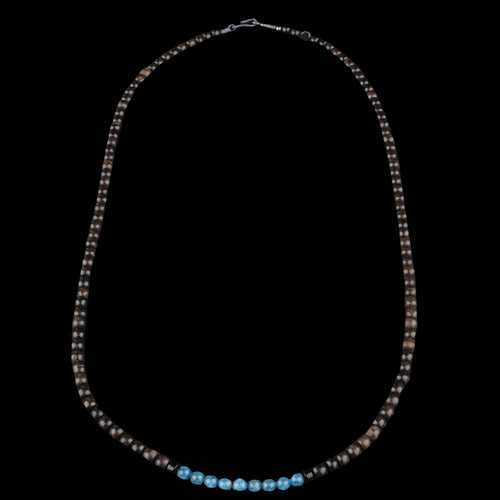 Ubud Necklace in Blue Apatite