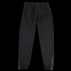 Blurhms - Cupro Cotton Side Zipper Wide Pant in Black