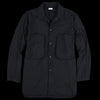 Blurhms - Nylon Utility Shirt in Black