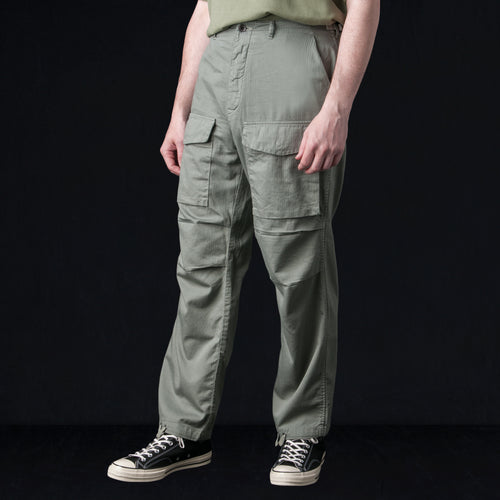 Light Herringbone Field Pant in Khaki