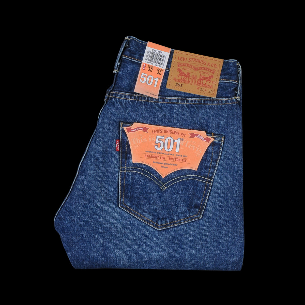 a0ae4b0d29c Levi's Made In The Usa - Selvedge 501 Original Fit Jean in Selvedge Rinse