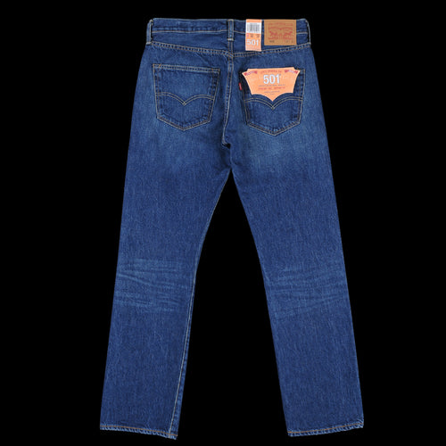 Selvedge 501 Original Fit Jean in Selvedge Rinse