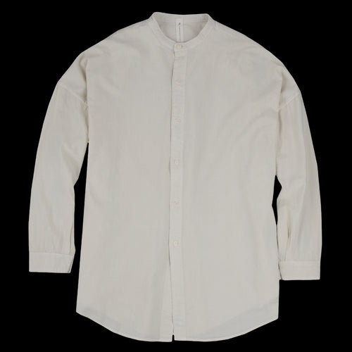 Mei No Collar Shirt in Natural