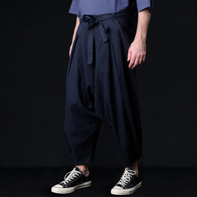 Prospective Flow - Zouhiki Pant in Navy