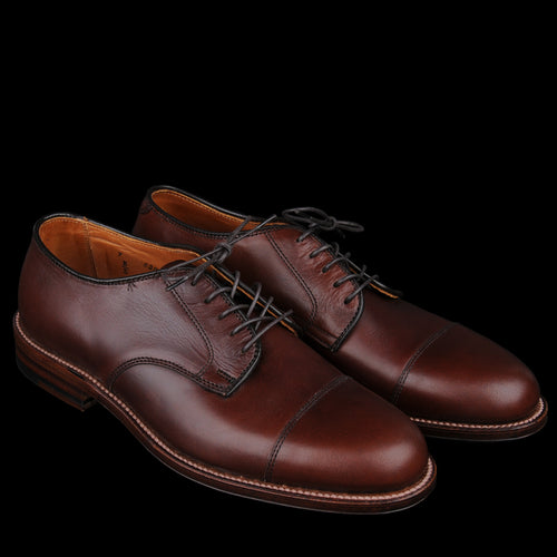 Courtland Cap Toe Dover in Brown Chromexcel D5508