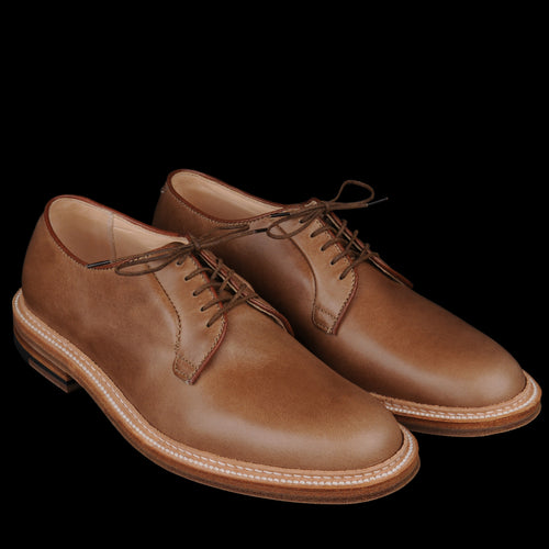 Plain Toe Blucher in Natural Chromexcel 9501