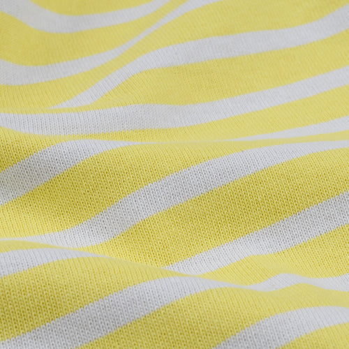 Stripe Long Sleeve Tee in Yellow & Cement