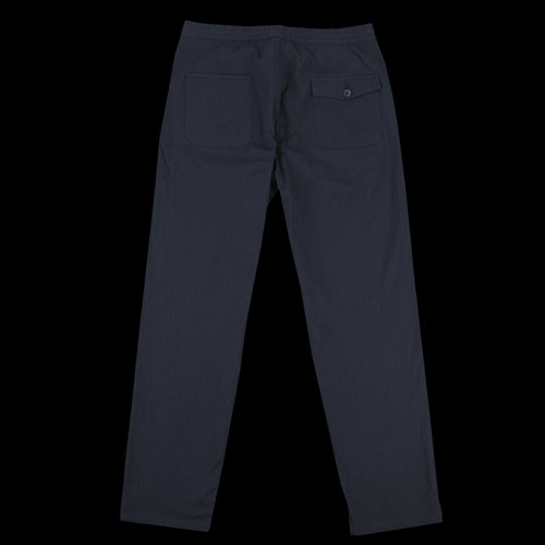 Drawstring Trouser in Portman Navy