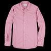Officine Generale - Lipp Pigment Garment Dyed Cotton Shirt in Faded Rose