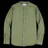 Officine Generale - Gaspard Pigment Garment Dyed Cotton Shirt in Olive
