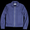 Officine Generale - Cillian Garment Dyed Jacket in Ocean