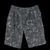 Officine Generale - Italian Cotton Camo French Short in Black & Olive